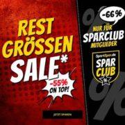 *TOP* SportSpar: Mega-Sale mit 55% Extra-Rabatt (Sparclub-Mitglieder 66%) - z.B. Nike, Puma, adidas uvm.