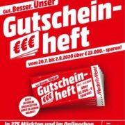 MediaMarkt Gutscheinheft-Aktion: TVs, Computer & Büro, Smartphones, Entertainment & mehr rabattiert