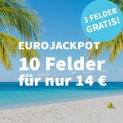 *NEU- & BESTANDSKUNDEN* Lottohelden - Sommerkalender-Aktion Tag 5: EuroJackpot (10 Felder, 1 Woche Laufzeit) für 14€ (statt 20€)