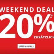 *WEEKEND-DEAL* *TOP* Peek & Cloppenburg*: Bis zu 70% Rabatt + 20% Extra-Rabatt - nur bis Montag 10 Uhr!