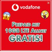 *KNALLER* *60€ GUTHABEN* CallYa Digital Allnet-Flat Prepaid (Allnet- & SMS-Flat, 10 GB LTE) kostenlos