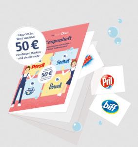 *GRATIS* Dosierhilfe + Couponheft im Wert von 50€