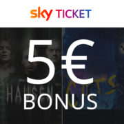 Sky Ticket Pakete: ab 7,49€/Monat oder z.B. inkl. TV Stick ab 29,99€ + 5€ BestChoice Gutschein als Bonus