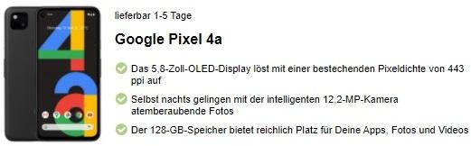 google-pixel-4a-infos