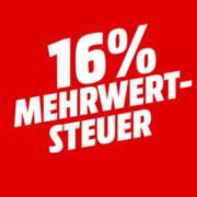 *ENDET MONTAG UM 9 UHR* *KNALLER* MediaMarkt: MwSt-Aktion - 16% auf ALLES, Nintendo Switch, TVs, Haushaltsgeräte u.v.m.