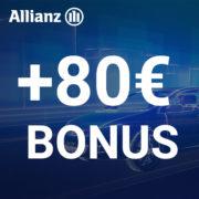 *TOP* 🚗 Allianz Kfz-Versicherung ab 72€/Jahr + 80€ BestChoice-Gutschein (auch Amazon)