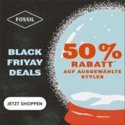*TOP* Fossil - Black Friyay Deals: 30% Rabatt auf fast alles & 50% Rabatt auf ausgewählte Styles