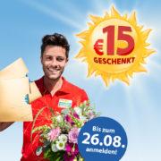 Postcode Lotterie: Monatslos für 12,50€ kaufen & 15€ aufs Girokonto zurückerhalten!