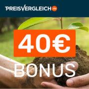 *TIPP* Preisvergleich.de: Strom + Gas 40€ Bonus für jeden Wechsel (oder Neuabschluss!)