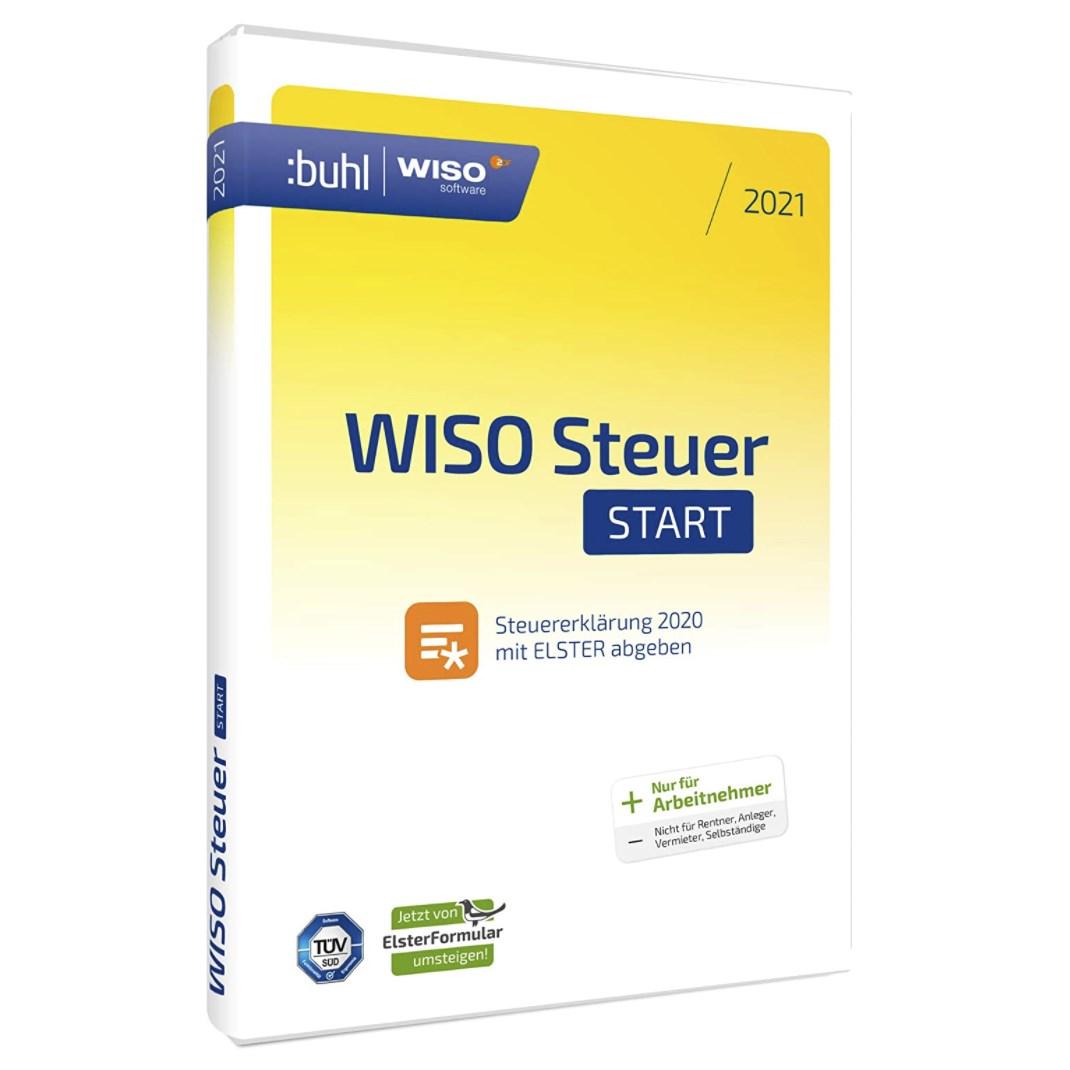 WISO Steuer-Start 2021 für 12,99€   MonsterDealz.de