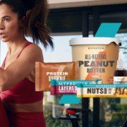 Myprotein: 50% Rabatt auf alle Snacks!