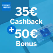*85€ BONUS* Dauerhaft kostenlose American Express Blue Card-Kreditkarte (Membership Rewards möglich)