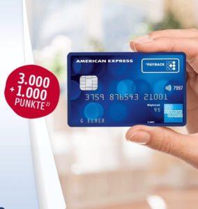 *TOP* American Express: Dauerhaft kostenlose Kreditkarte & 4.000 Extra-Punkten - Neu: Jetzt doppelt so viele Punkte sammeln