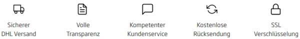 curve_vorteile_banner_dhl_versand_transparenz_kundenservice_ruecksendung_verschluesselung