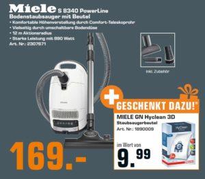 MIELE S 8340 PowerLine