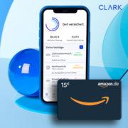 *TOP* 15€ Sofort-Bonus für CLARK-Versicherungs-App – Registrieren + Bedarfscheck machen