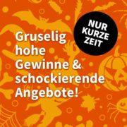 *NEU- & BESTANDSKUNDEN* Lottohelden - Halloween-Woche - Tag 3: 7€ Rabatt bei EuroMillions - 7 Felder für nur 14€ (statt 21€)