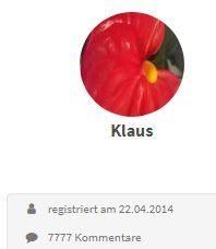 Kommentarbild von Klaus