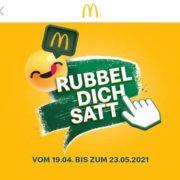 McDonald's App: Rubbel dich satt - jeden tag Coupons bis 23.05.2021 (Ersparnis über 50% möglich)