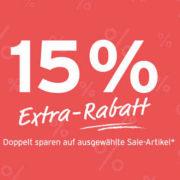 Heute 15% Extra-Rabatt (*auch auf Tonies!*)  bei Tchibo