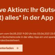 eBay: 10€ Gutschein auf fast Alles in der eBay-App