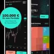 *50€ BONUS* Scalable Capital: 25€ für den Broker & 50€ für Roboadvisor - inkl. bis zu 100.000€ gewinnen