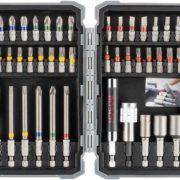 Bosch Professional 43 tlg. Schrauberbits und Steckschlüssel Set [Prime]
