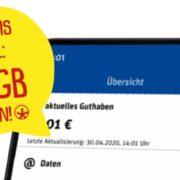 GRATIS: 10 GB Datenvolumen kostenlos zur Fußball-EM in der ja!mobil-App & PennyMobil-App bis zum 11.07.2021