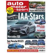 auto motor und sport 12 Monats-Abo für 127,30€ + bis zu 120€ Prämie