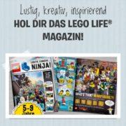 GRATIS LEGO® Life Magazin für Kinder (5-9 Jahre)