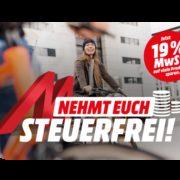 Mediamarkt schenkt euch die *Mehrwertsteuer* vom 17.-24.10.21