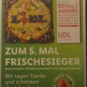 GRATIS *1 Apfel* zu jedem Einkauf bei Lidl