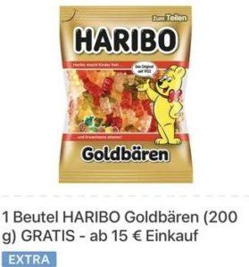 GRATIS 1 Beutel *HARIBO Goldbären* (200g) mit Kaufland-App ab 15€ Einkauf
