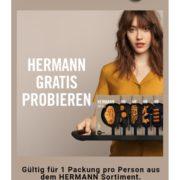 GRATIS HERMANN Produkte testen bis 31.12.21
