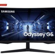 Samsung Odysses G5 (C27G54TQWR) 27 Zoll WQHD Gaming Monitor für 216,88€ (statt 253€)