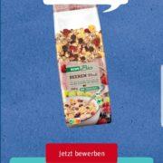 GRATIS TESTEN bei Rewe: REWE Bio Beerenmüsli (1 von 5.000 Produkttester)