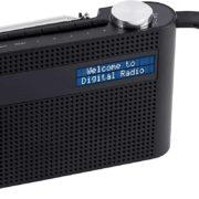 Amazon: MEDION P66007 tragbares DAB+ Radio (DAB Plus, UKW, Bluetooth, 60 Senderspeicher, dimmbares Display, integrierter Akku, Teleskopantenne) schwarz