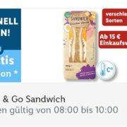 gratis Sandwich bei Lidl am 20.01.21 (8-10 Uhr) bei Mindesteinkauf von 15 Euro