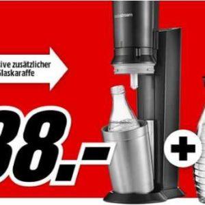 media markt sodastream crystal 2 0 wassersprudler f r 88. Black Bedroom Furniture Sets. Home Design Ideas