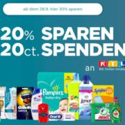 Procter & Gamble Produkte 20% Cashback