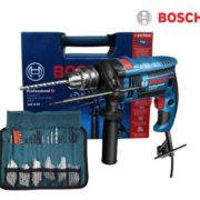 Bosch Professional GSB 16 RE Schlagbohrmaschine+Zubehörsatz