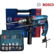 Bosch Professional GSB 16 RE Schlagbohrmaschine+Zubehörsatz
