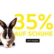35% Rabatt auf alle Schuhe bei My-Sportswear!