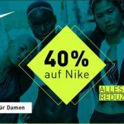 40% auf alle Nike & Under Armour Artikel bei mysportswear + 5€ Gutschein für die Newsletteranmeldung