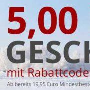5,- € Gutschein bei Druckerzubehör (MBW 19,95 €)