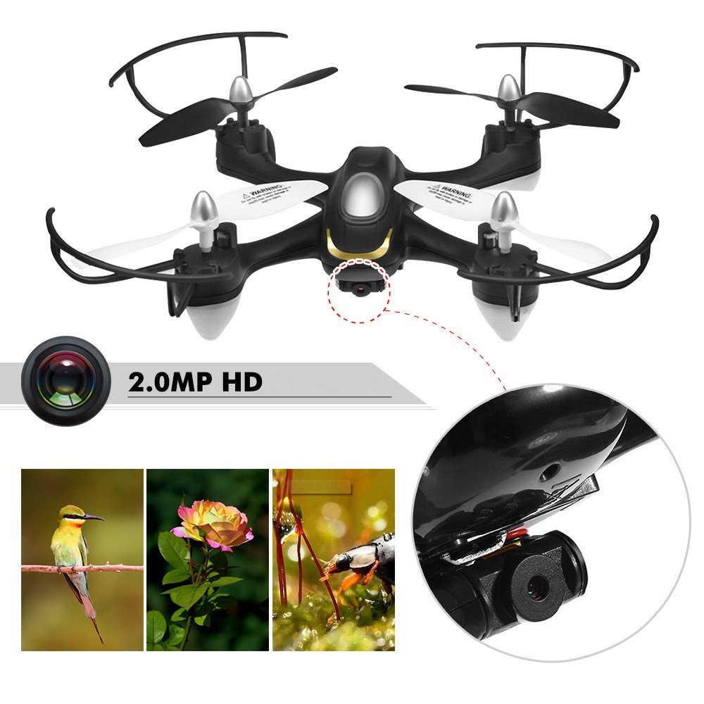 quadrocopter mit 2 0 hd kamera eachine e33c drone. Black Bedroom Furniture Sets. Home Design Ideas