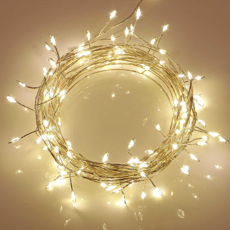 200er led lichterkette mit fernbedienung. Black Bedroom Furniture Sets. Home Design Ideas