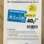 50€-Geschenk-Gutschein für 40€ bei [Conrad] am 07.04.