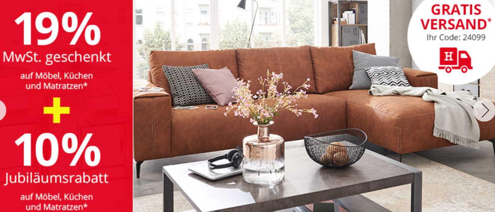h ffner aktion 19 mwst geschenkt 10 extra. Black Bedroom Furniture Sets. Home Design Ideas