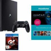 Otto:  PS4 Pro 1TB + Gran Turismo Sport + Maxdome